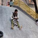アスレチック公園にいって遊ぶこともできるよ!