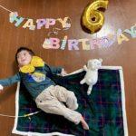 かいせいCEOが6歳になりました!